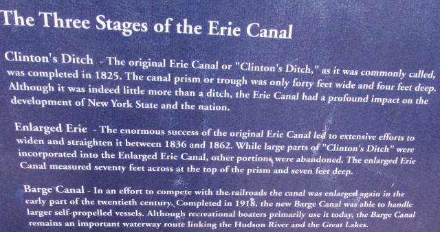 canal stages