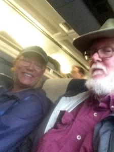 Aboard Amtrak