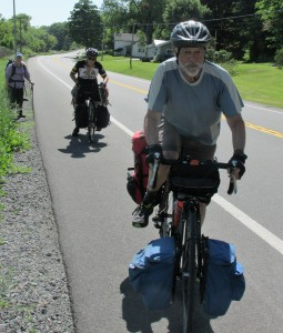 Canadian cyclists